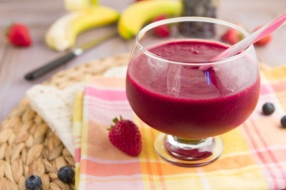Beets Mixed Berry Vegetable Smoothie