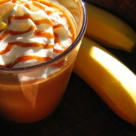 Banana Caramel Smoothie using Ardyss Enerlife