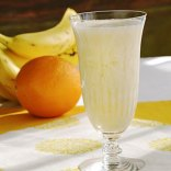 Banana Orange Smoothie (using Ardyss Power Boost) This delicious citrus flavored drink contains a high amount of L-Arginine, which promotes vitality, muscle strength, boosts energy, is a source of antioxidants, and reduces oxidative damage, a major factor in the aging process.