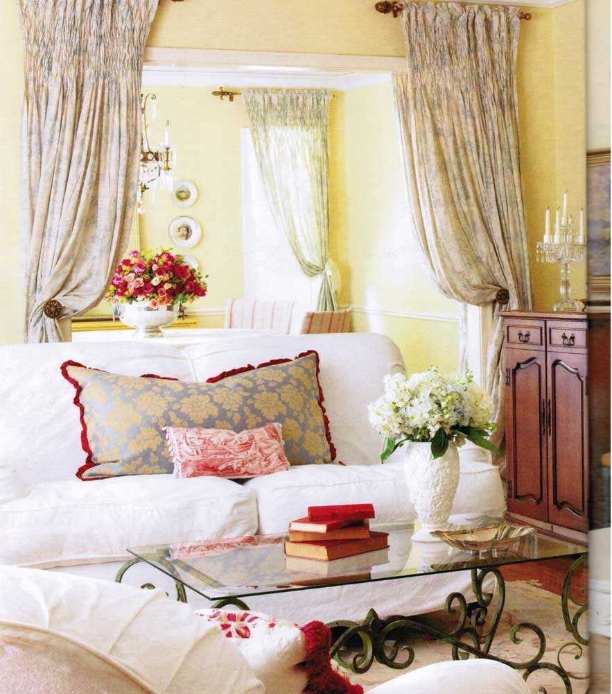 Butterflyflame everything under the sun - French decorating ideas living room ...